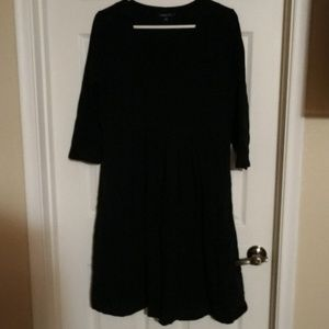 EUC CHADWICKS XL BLACK SWEATSHIRT DRESS
